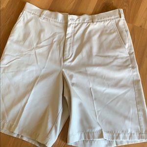 Nike Golf Fit Dry khaki shorts size 36